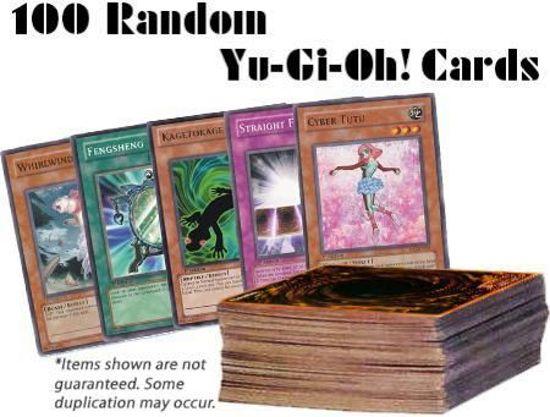 Afbeelding van het spel Yu-Gi-Oh! 100 Random Kaarten