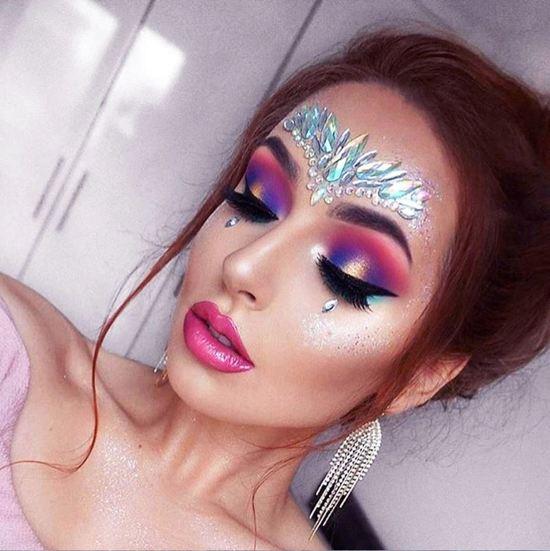 Face Crystals Body Glitter Tijdelijke Gezicht Bedels Festival Glitter Kristallen Zomer Feest Bedeltjes Festival Tattoo Face Crystal