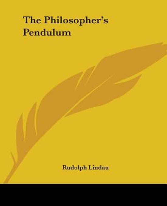 The Philosopher's Pendulum