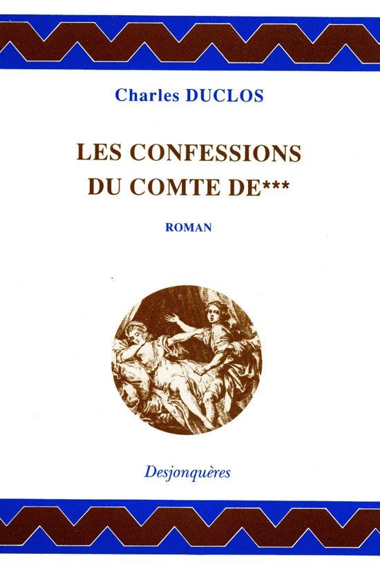 Les Confessions du comte de***