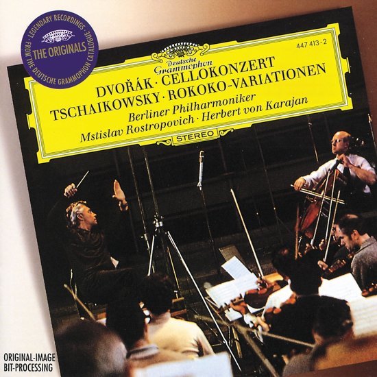 Cello Concerto/Variations On A Rococo Theme