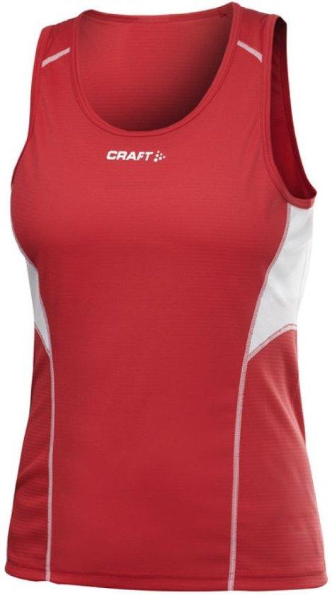 Craft T&F Singlet Women bright red l