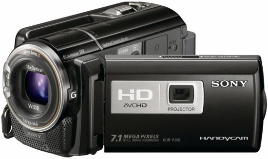 Sony Handycam HDR-PJ50VE - Zwart