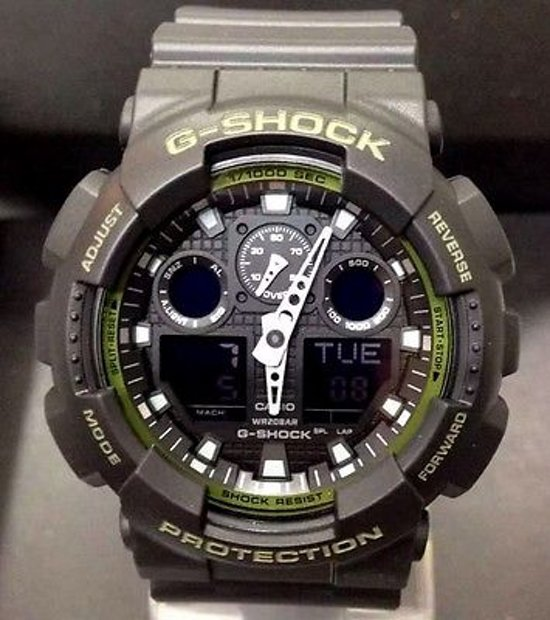 Casio G-SHOCK Classic GA-100L-1AER
