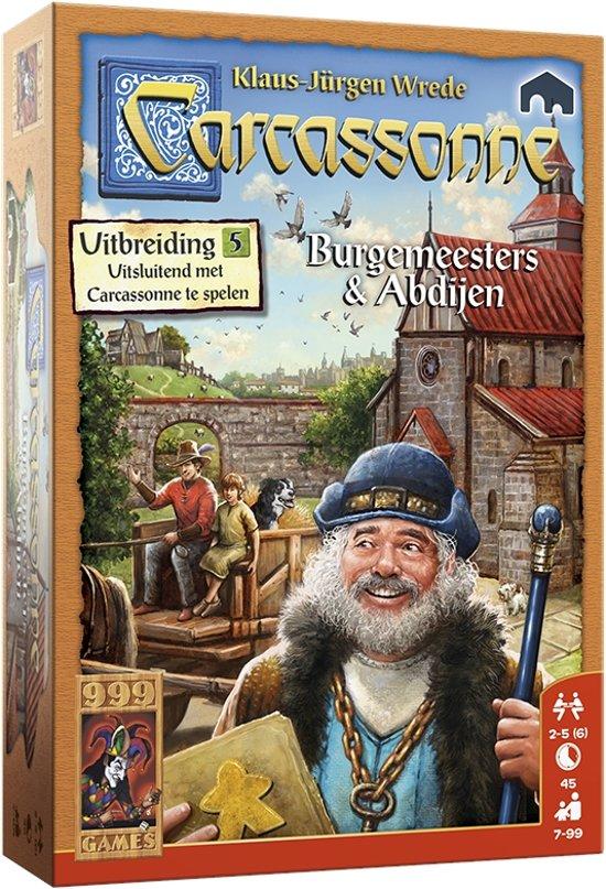 Carcassonne: Burgemeesters en Abdijen Bordspel