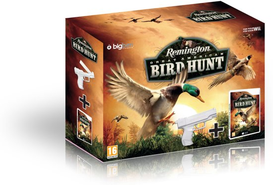 Remington Great American Bird Hunt + Gun Wii kopen