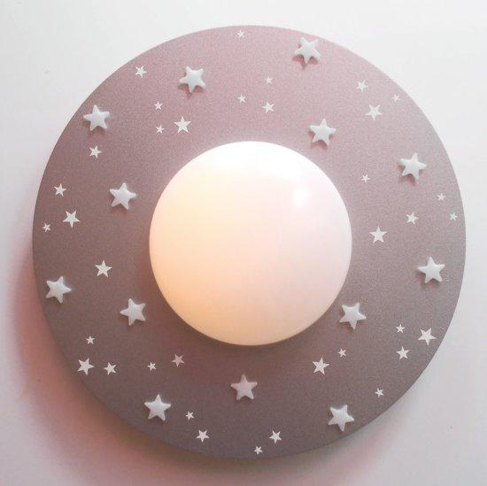 Funnylight LED kinderlamp sterrenhemel zilver-glow in the dark sterren