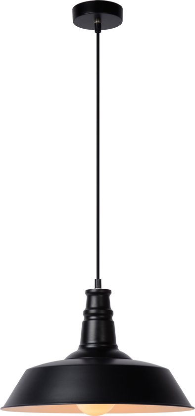 Lucide BARON - Hanglamp - Ø 36 cm - Zwart