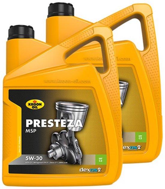 Velsete bol.com   Kroon Olie aanbieding: 2 x Presteza MSP 5W30 5L VD-55
