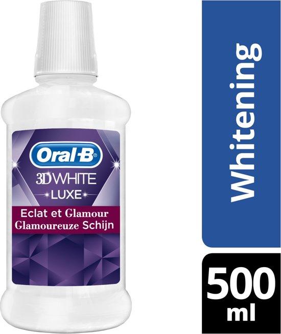 Oral-B 3D White Luxe Glamoureuze Schijn mondwater 500ml