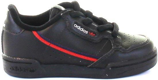 de06e5e4353 bol.com   Adidas Meisjes Sneakers Continental 80 I - Zwart - Maat 25
