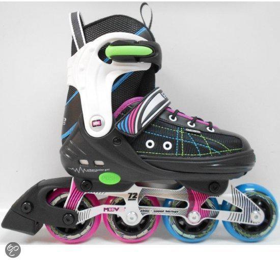 828ffe8eaef bol.com | Move Urban junior girl inline skates zwart roze maat 37-40