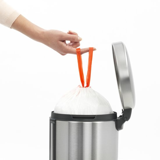 Brabantia NewIcon Pedaalemmer 5 Liter Mat RVS