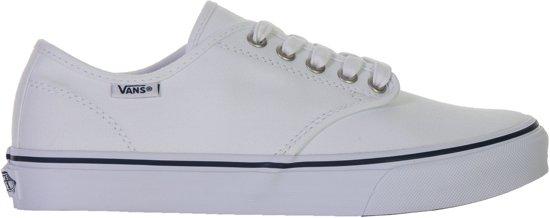 54a6ee4d674 Vans Camden Stripe Sneakers - Maat 39 - Vrouwen - wit/zwart