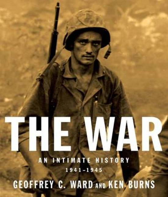 Boek cover The War van Geoffrey C Ward (Hardcover)