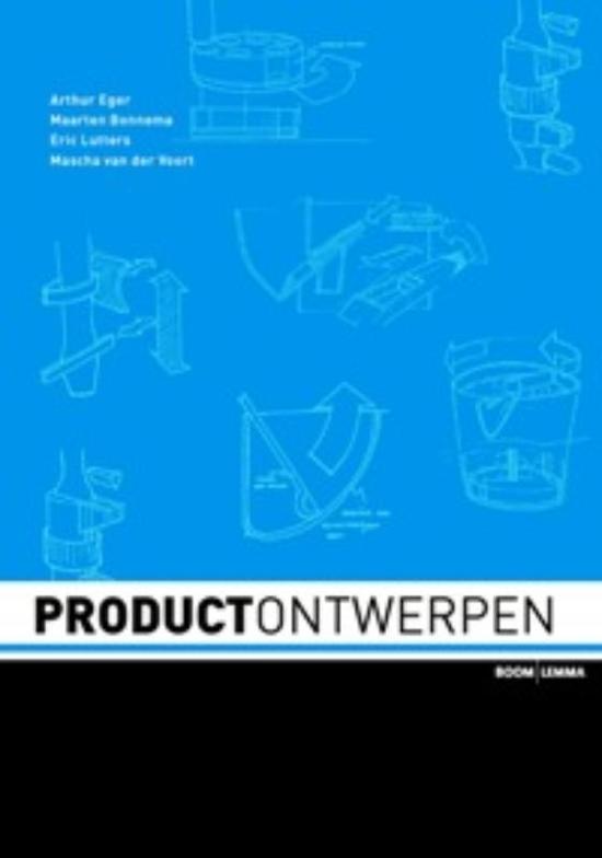 Boek cover Productontwerpen van Arthur O. Eger (Paperback)