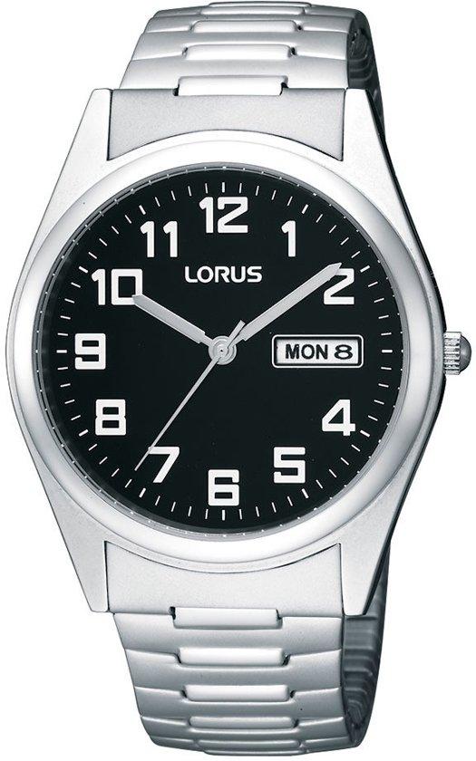 Lorus RXN13CX9 - Horloge - 37.5 mm - Zilverkleurig