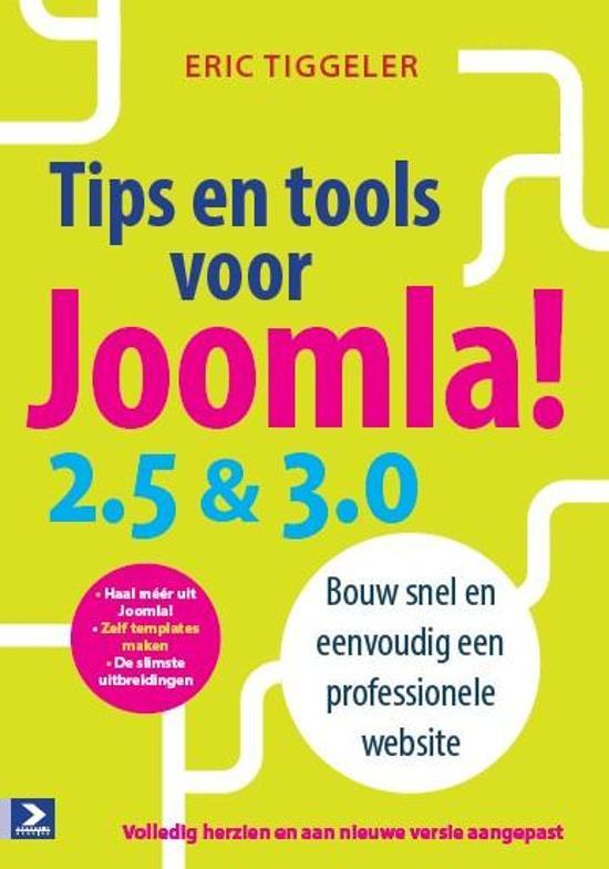 Tips en tools voor Joomla! 2.5 en 3.0