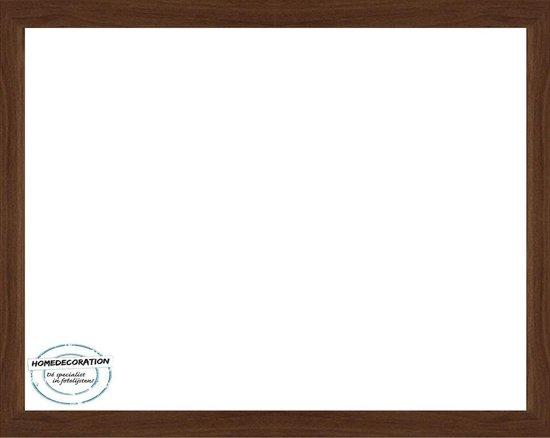 Homedecoration Misano – Fotolijst – Fotomaat – 76 x 85 cm  – Marone Bicolor