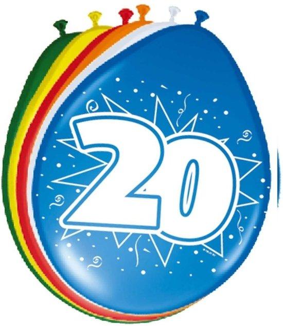 Bol Com Ballonnen 20 Jaar Folat Speelgoed