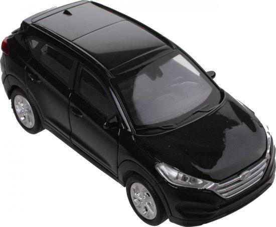 Welly Schaalmodel Hyundai Tucson 1:34 Zwart 11 Cm