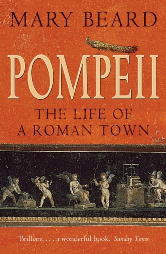 Boek cover Pompeii van Mary Beard (Paperback)