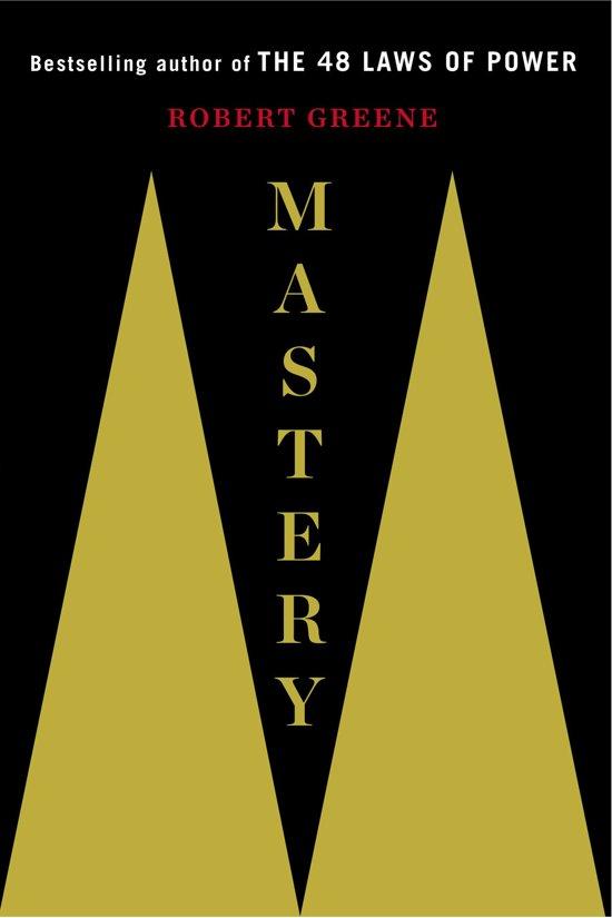 Boek cover Mastery van Professor Robert Greene (Hardcover)