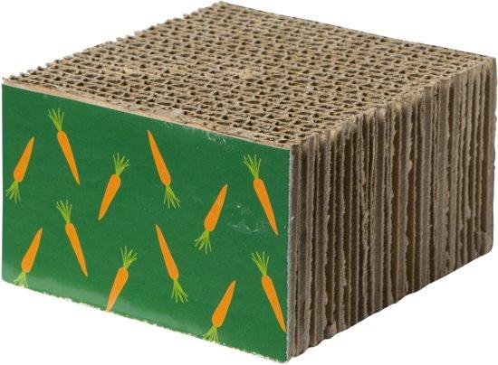 Adori Knaagspeelblok - Knaagdierenspeelgoed - Karton