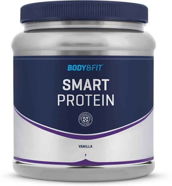 Body & Fit Smart Protein - Eiwitpoeder / Eiwitshake - 1000 gram - Vanilla milkshake