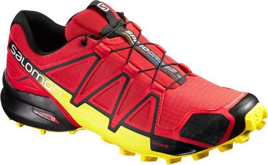 894b8a0c8a0 Salomon Speedcross 4 Hardloopschoenen - Maat 47 1/3 - Mannen - rood/zwart