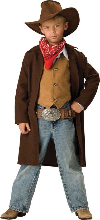 Cowboy kostuum voor kinderen - Premium - Kinderkostuums - 128/140