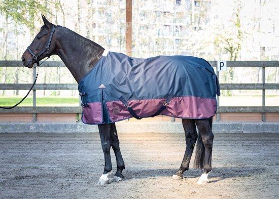 Harry's Horse Regendeken 0gr Thor fleece 175cm blueberry (blauw)