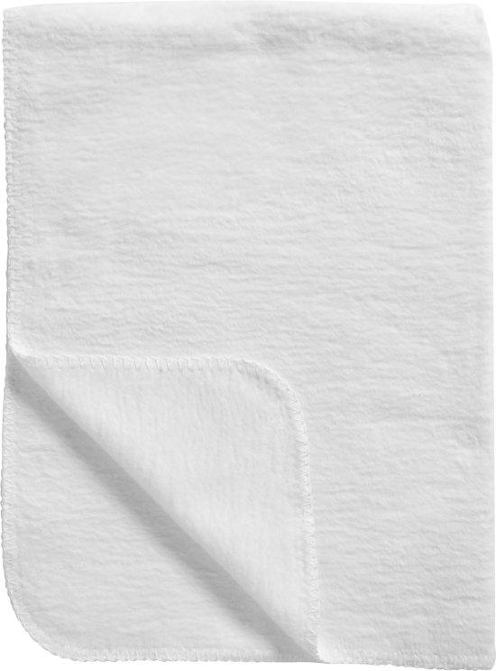 Meyco Basic Uni Ledikantdeken - 100x150 cm - Wit