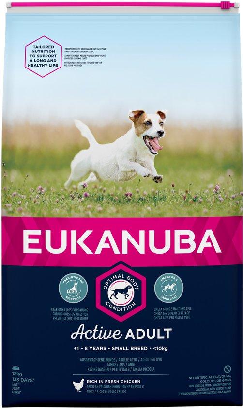 Eukanuba Dog Adult - Small Breed - Kip - Hondenvoer - 12 kg