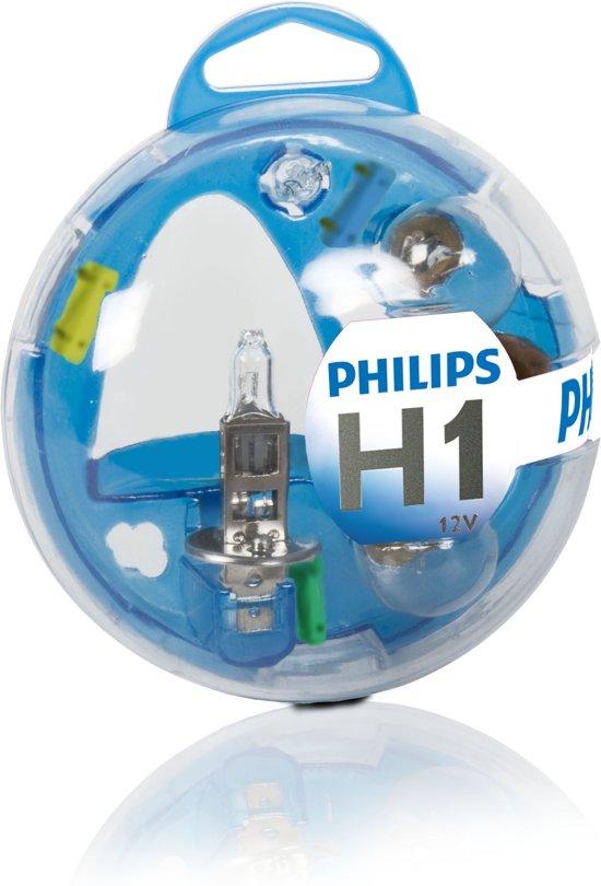 Philips 12V H1 auto reserve lampen set