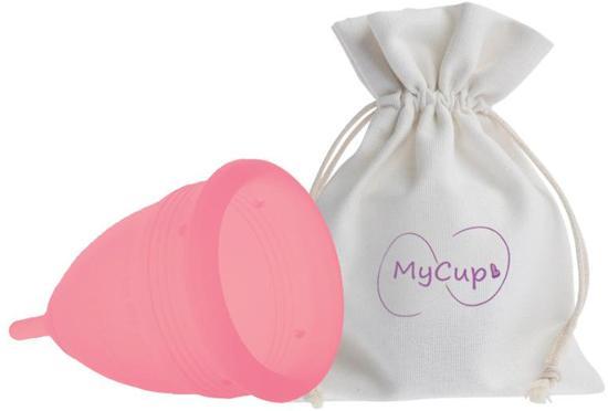 MyCup Roze Maat Large - herbruikbare Menstruatiecup