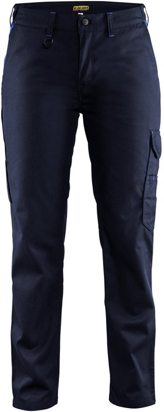 bol | blåkläder 7104-1800 dames werkbroek industrie marineblauw