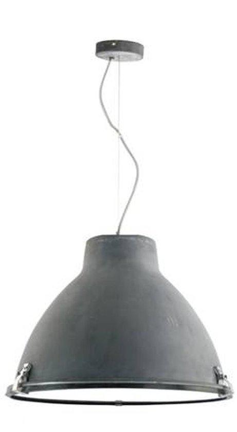 bol.com | WL verlichting Hanglamp - Industrie - 1 lichts - Betonlook