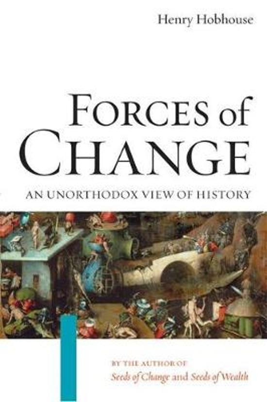 Boek cover Forces of Change van Henry Hobhouse (Paperback)