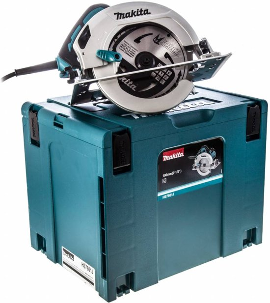 Makita Cirkelzaag 230V 190 mm in Mbox