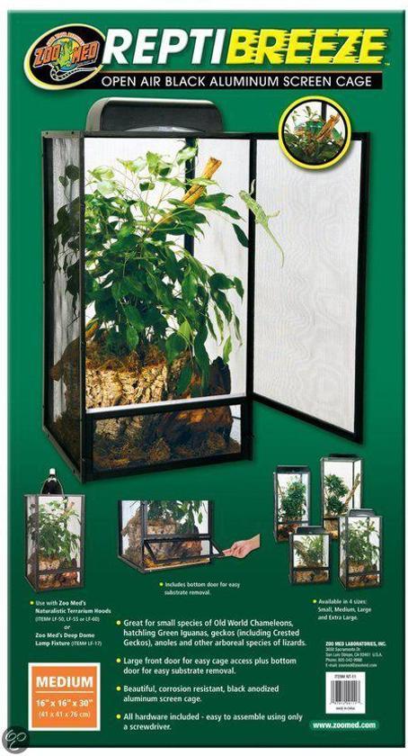 Zoomed Terrarium Reptibreeze 40x40x76cm
