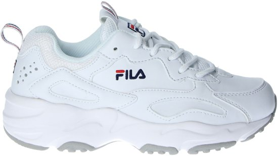 bol.com | Fila Ray Tracer Low dames dad sneaker - Wit - Maat 42