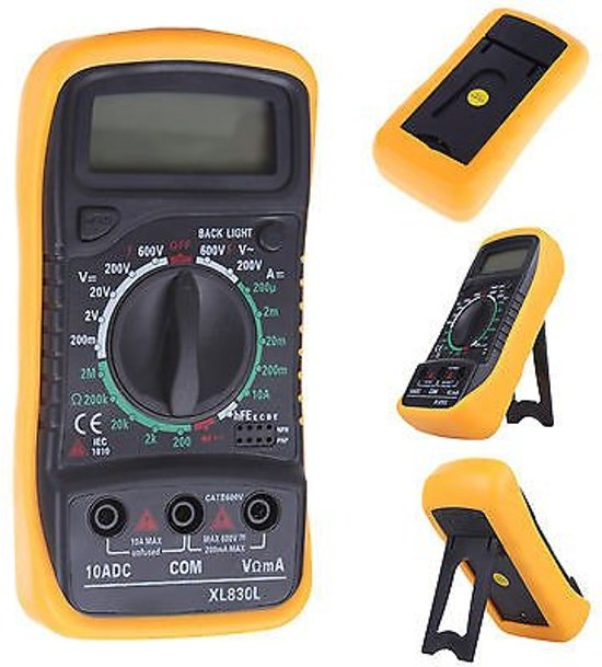 L De Voltage Meter : Bol voltage meter multimeter voltmeter