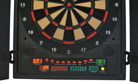 Dartbord In Kast : Bol elektronisch wand dartbord kast set darts board