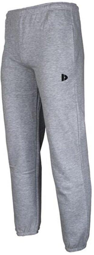 Donnay Joggingbroek met elastiek Sportbroek Heren Maat XXXL Licht grijs gemêleerd