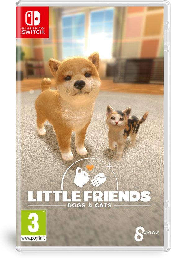Cover van de game Little Friends: Dogs & Cats - Switch