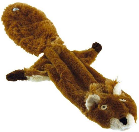 Pluche Skinneeez Fox Hondenspeelgoed - 38 cm