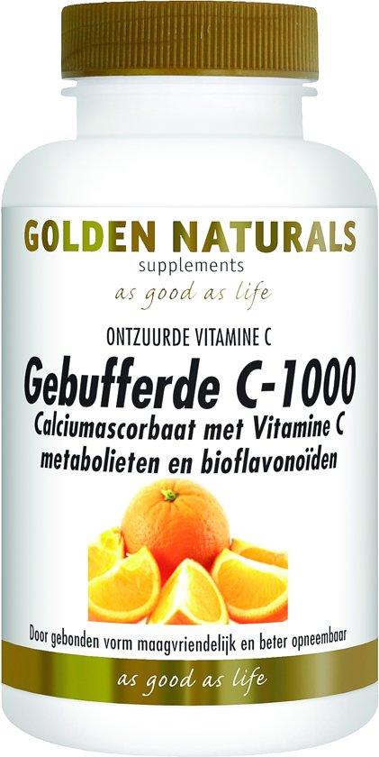 Golden Naturals Gebufferde C 1000 60 capsules