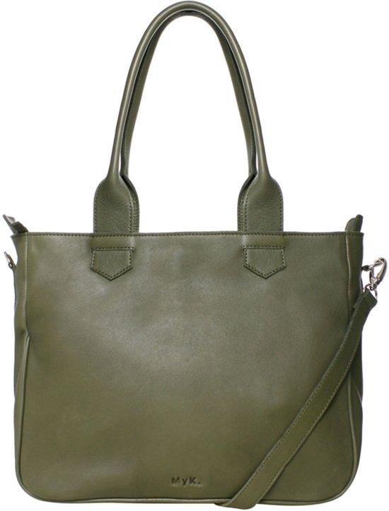 Myk handtassen Bags groen Sky bag rFCrOwqxH