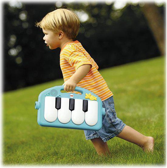Bol Com Fisher Price Kick And Play Piano Gym Mattel